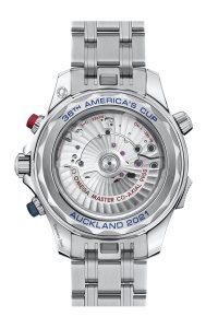 Omega Seamaster Diver 300M Americas Cup Chronograph 210.30.44.51.03.002 Trasera brazalete acero