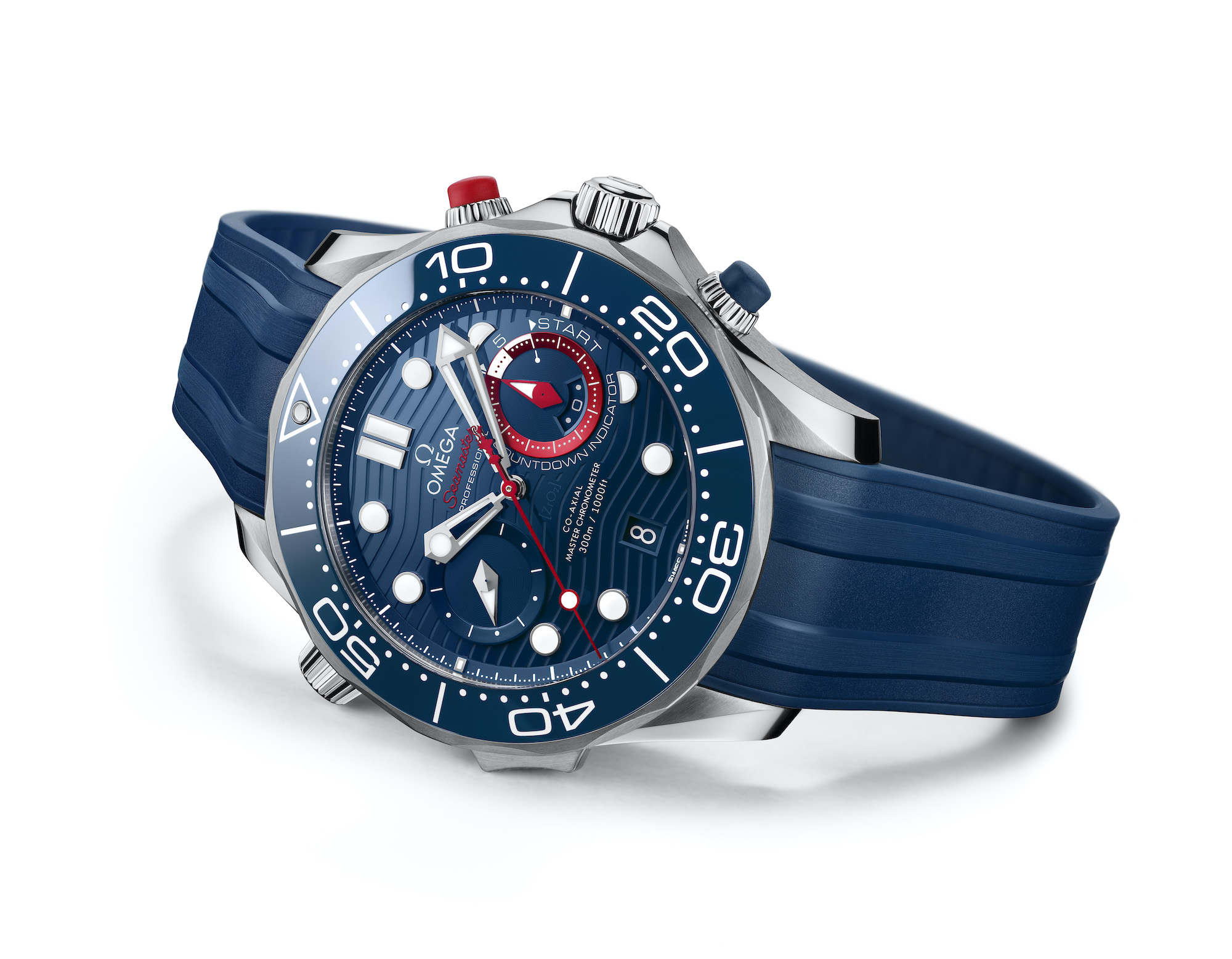 Omega Seamaster Diver 300M Americas Cup Chronograph 210.30.44.51.03.002