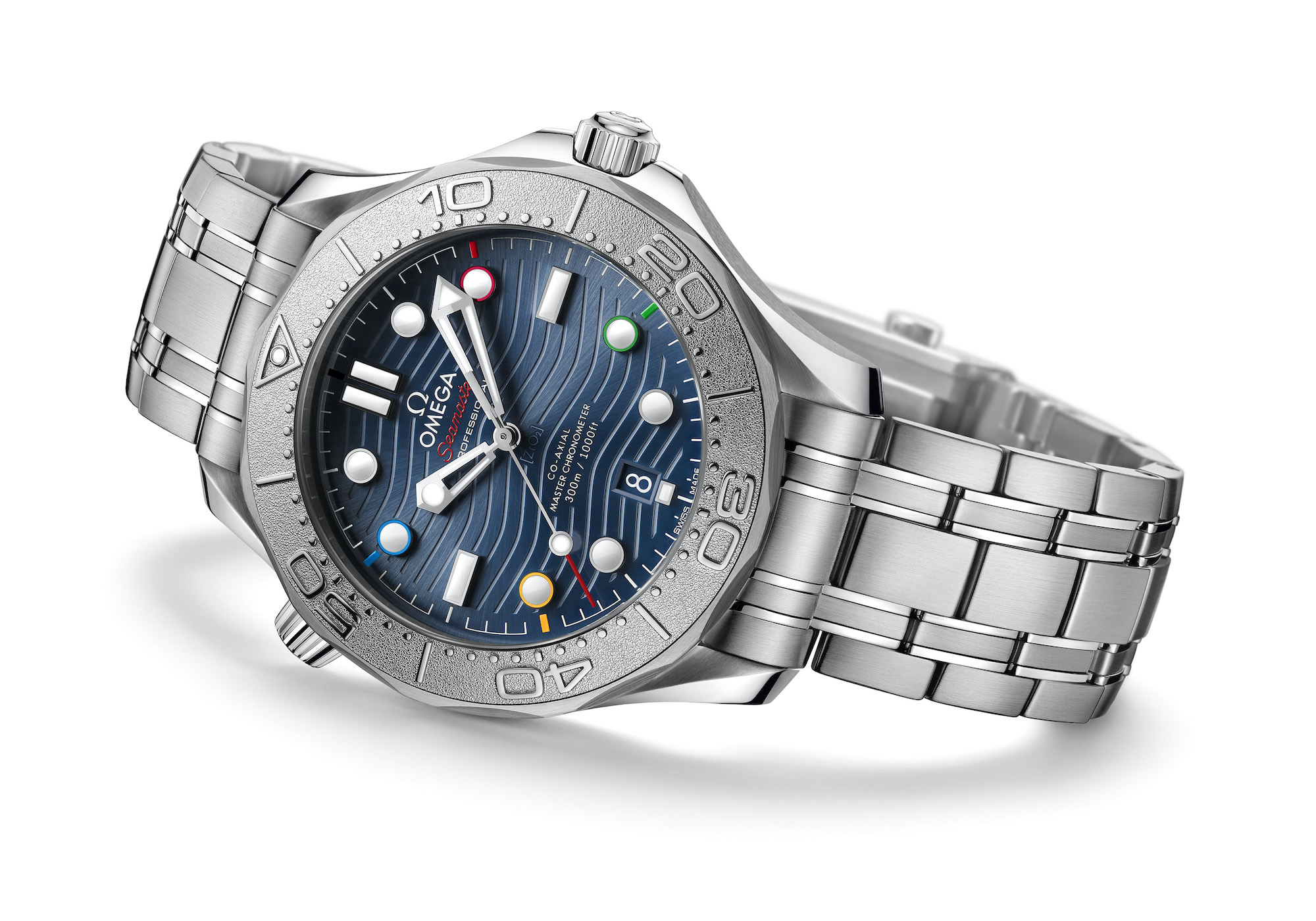 Omega Seamaster Diver 300M Beijing 2022 522.30.42.20.03.001