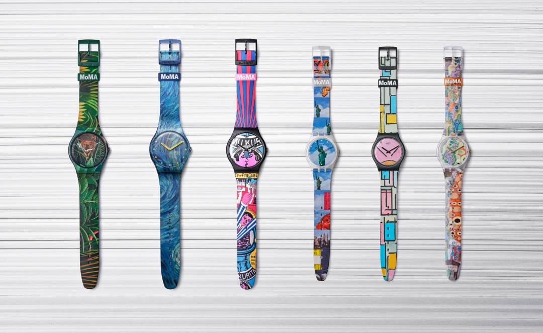 Swatch X MoMA Combo