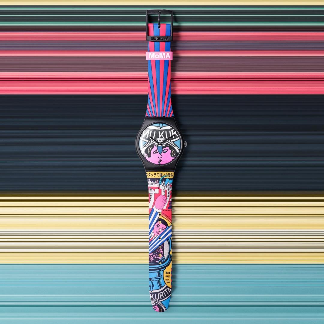 Swatch X MoMA sa01_suoz334 Lifestyle