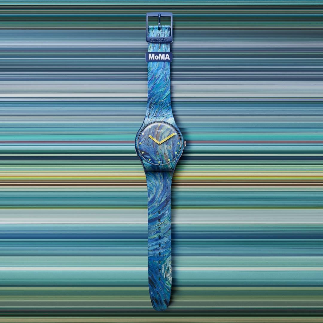 Swatch X MoMA sa01_suoz335 Lifestyle