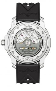 Blancpain Fifty Fathoms No Radiations 5008D-1130-B64A Trasera