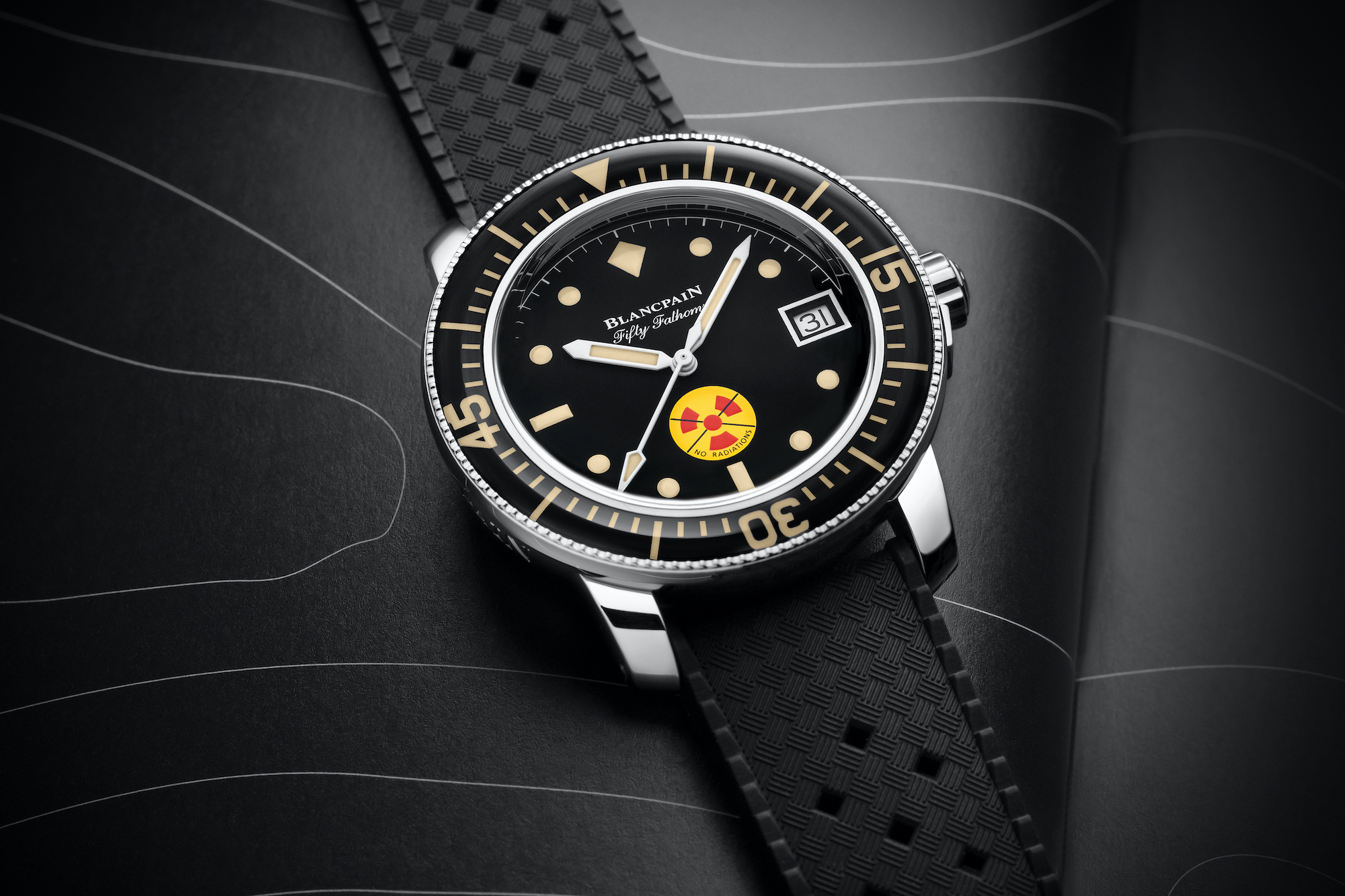 Blancpain Fifty Fathoms No Radiations 5008D-1130-B64A lifestyle detalle