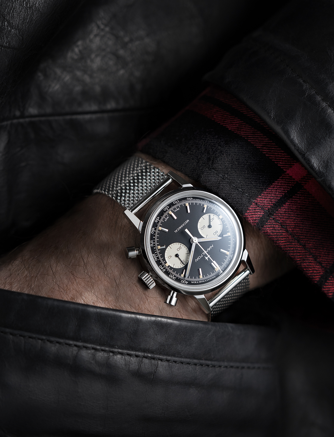 Hamilton Intra-Matic Chronograph H H38429130 Lifestyle 2