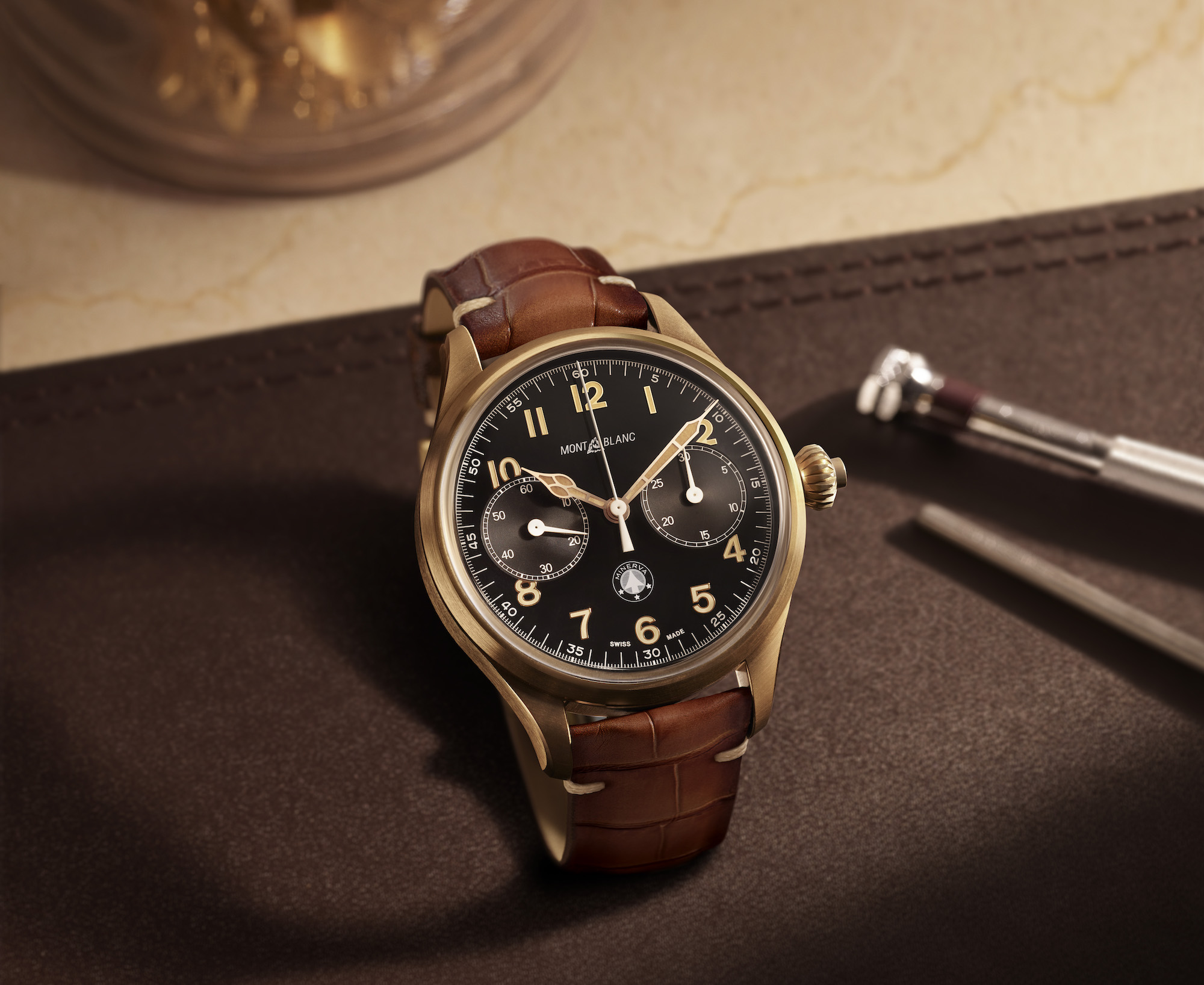 Montblanc 1858 Monopusher Chronograph Origins Limited Edition 100 lifestyle