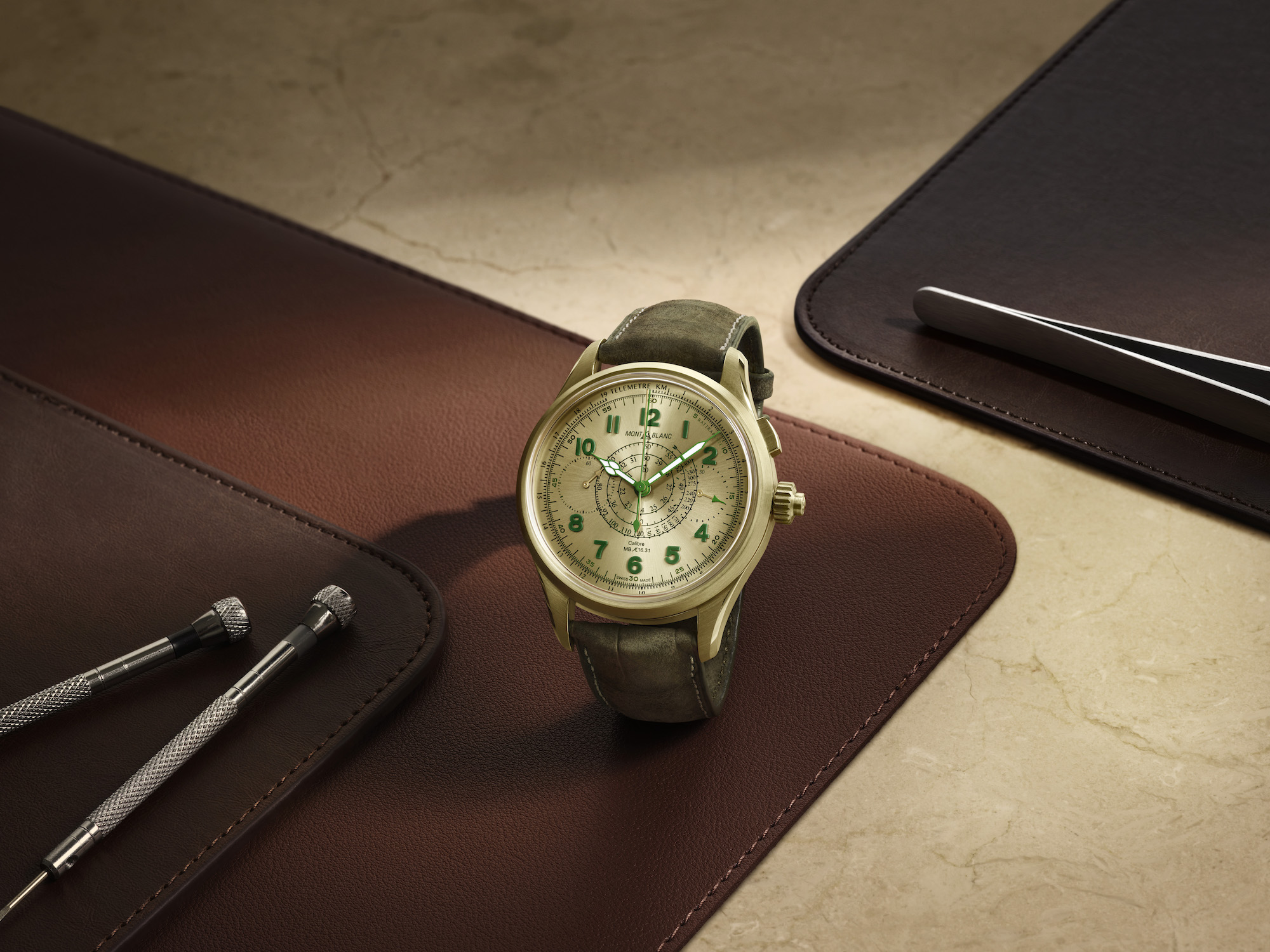 Montblanc 1858 Split Second Chronograph Edicion limitada 18 lifestyle