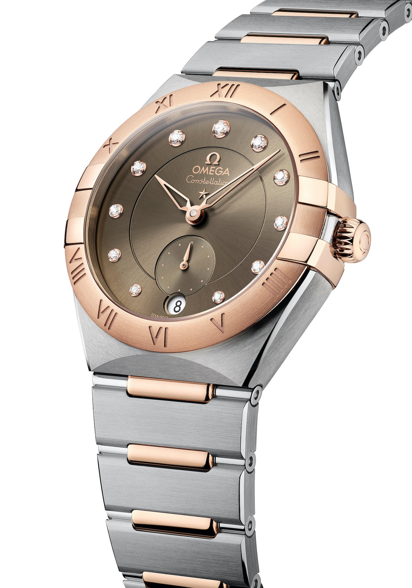 Omega Constellation Small Seconds 131.20.34.20.63.001 esfera