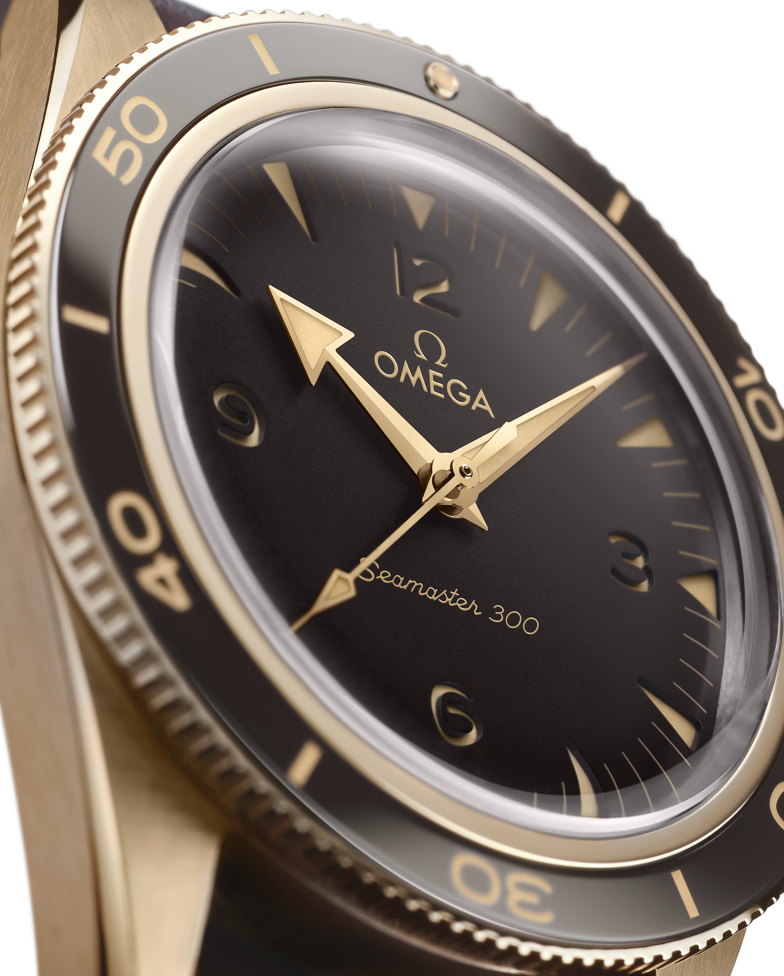 Omega Seamaster 300 234.92.41.21.10.001 detalle esfera