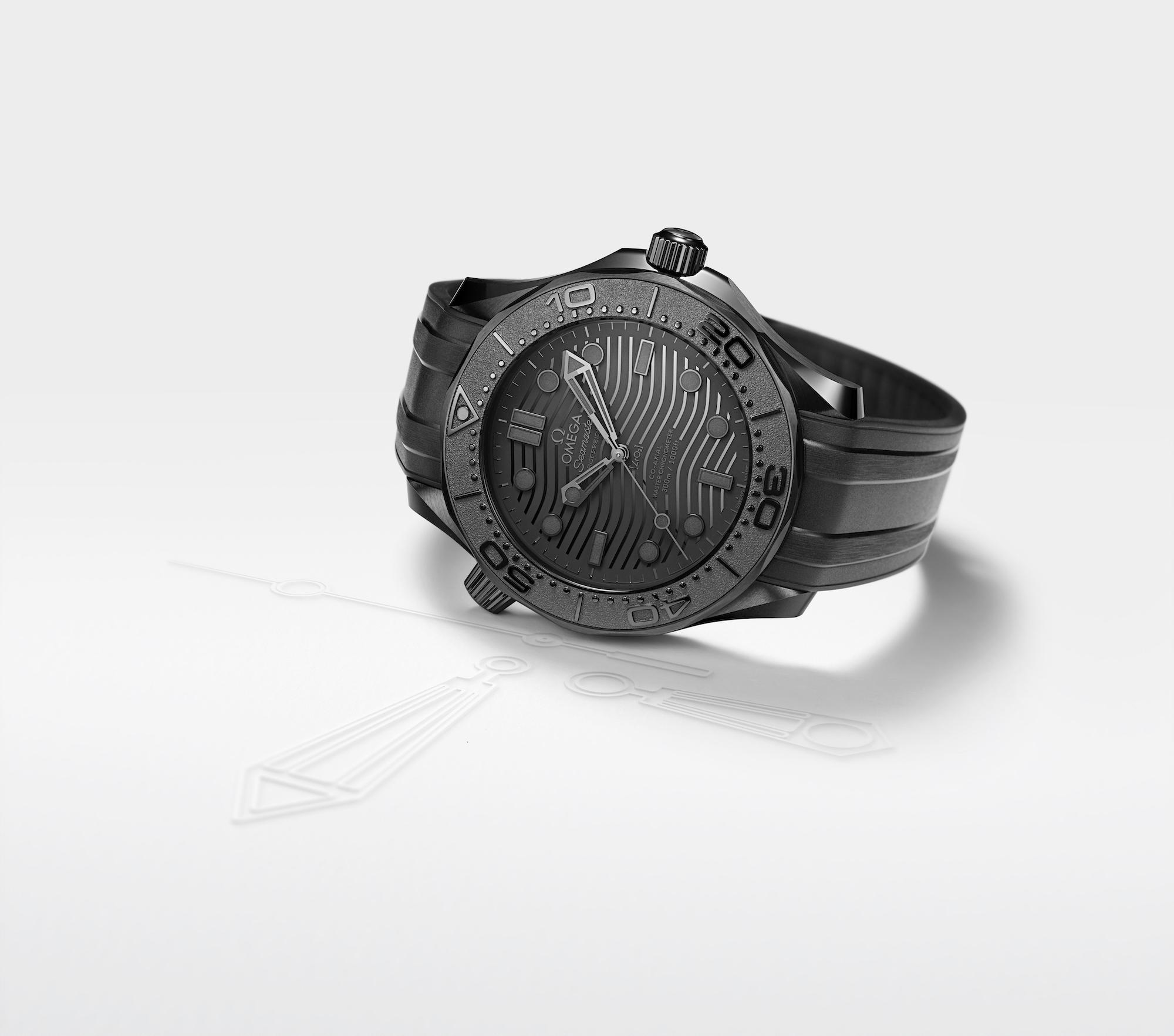 Omega Seamaster Diver 300M Black Black 210.92.44.20.01.003