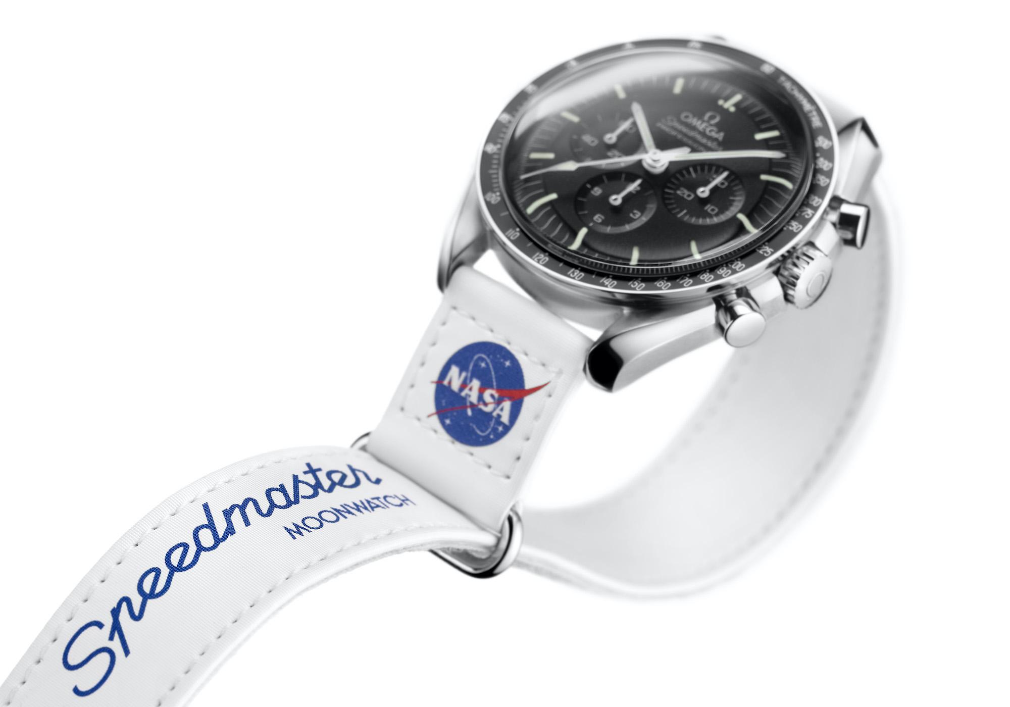 Omega Speedmaster Moonwatch Velcro Strap 032CWZ016041 detalle