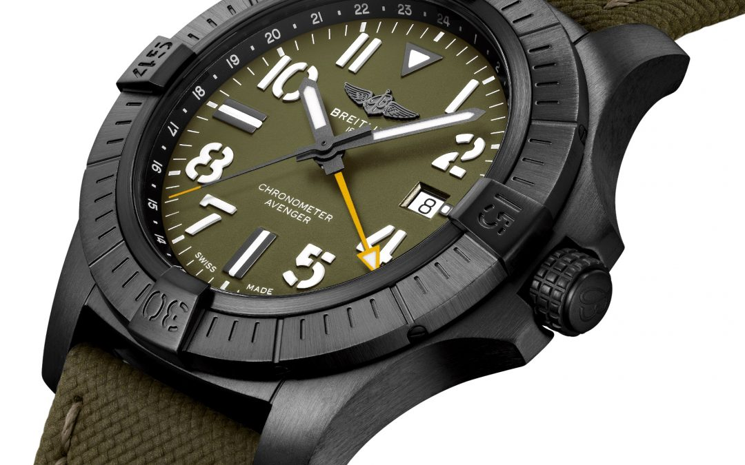 Breitling Avenger Automatic GMT 45 Night Mission Limited Edition