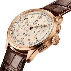 Breitling Premier B09 Chronograph 40 rb0930371g1p1 Esfera