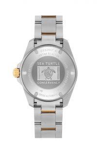 Certina DS Action Diver Sea Turtle Conservancy C032.807.22.041.10 Trasera