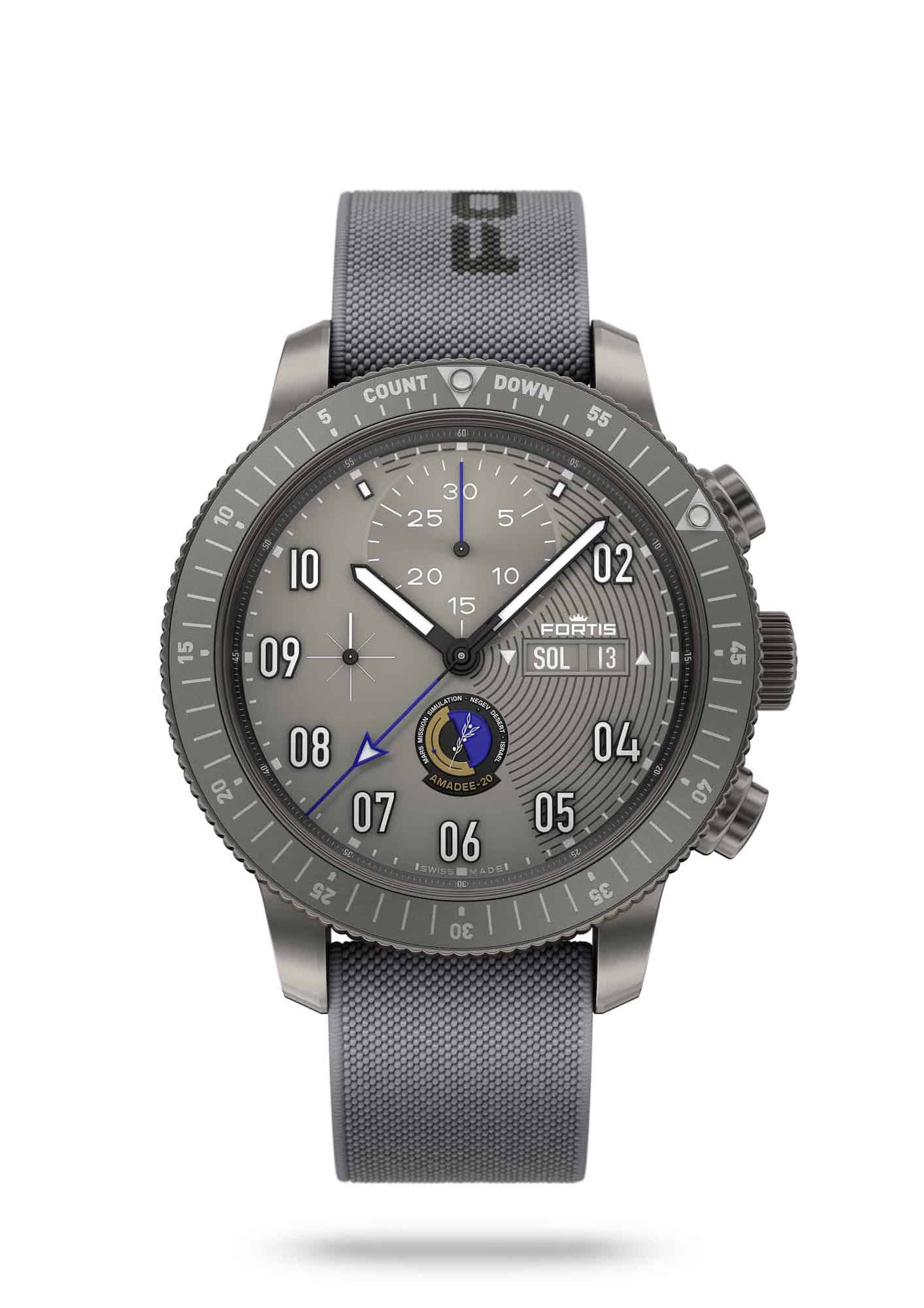 Fortis Official Cosmonauts Chronograph AMADEE-20 Frontal