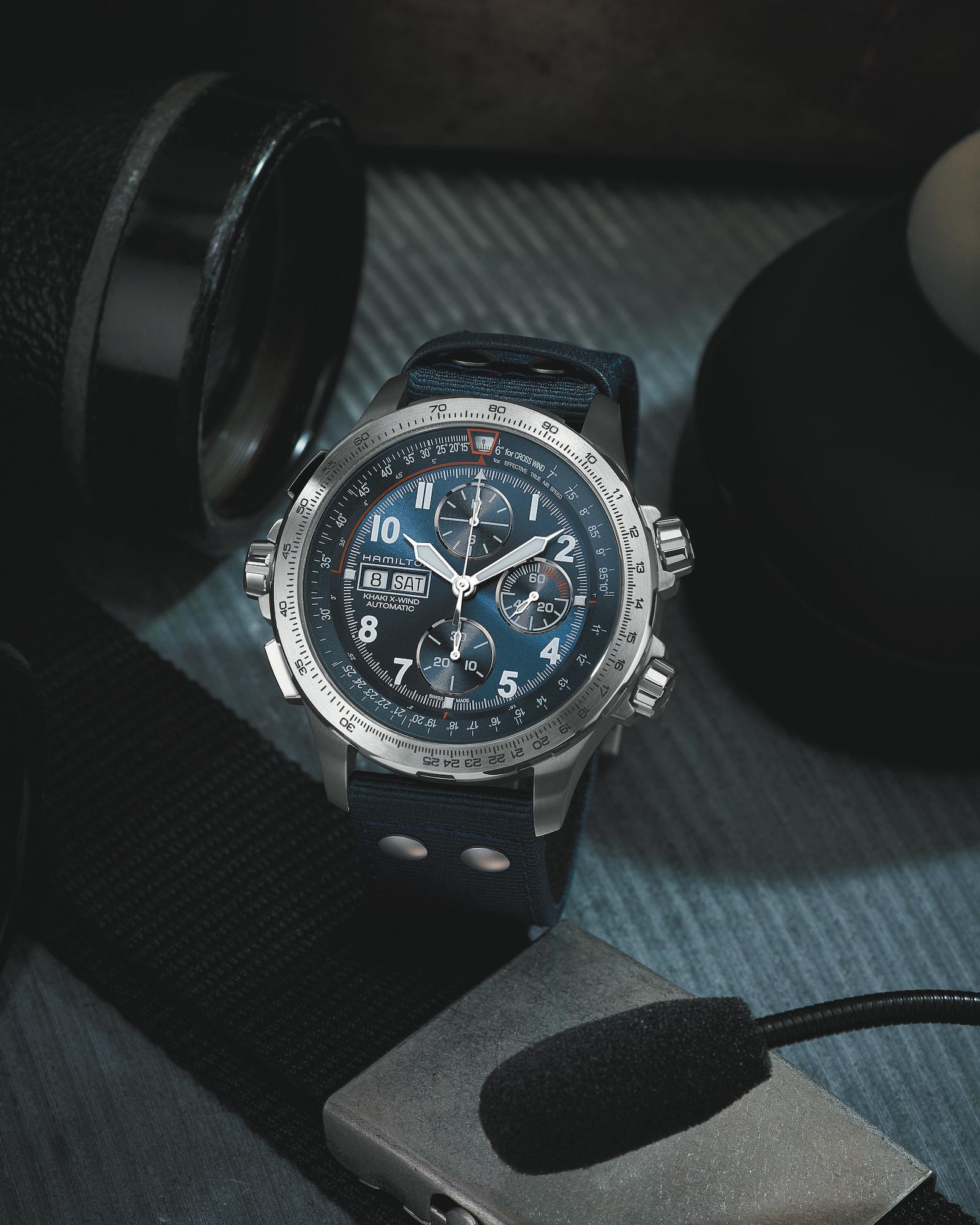 Hamilton Khaki X-Wind Auto Chrono_H77906940 Lifestyle 2