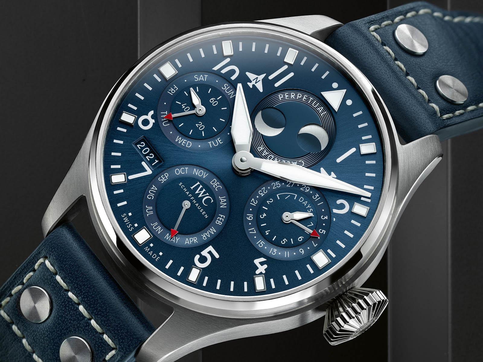 IWC Big Pilot Watch Perpetual Calendar IW503605 Detalle