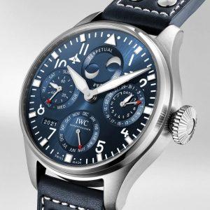 IWC Big Pilot Watch Perpetual Calendar IW503605 Perfil Esfera