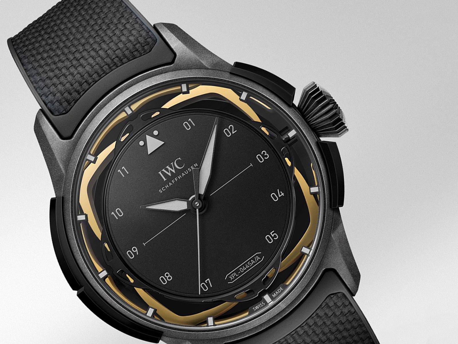 IWC Big Pilot Watch Shock Absorber XPL IW357201 Detalle esfera