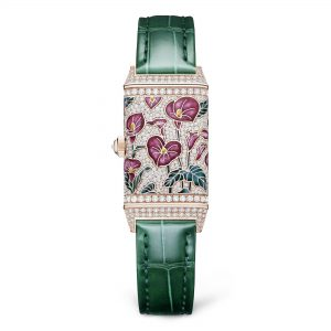 Jaeger-LeCoultre Reverso One Precious Flowers q3292401 Trasera