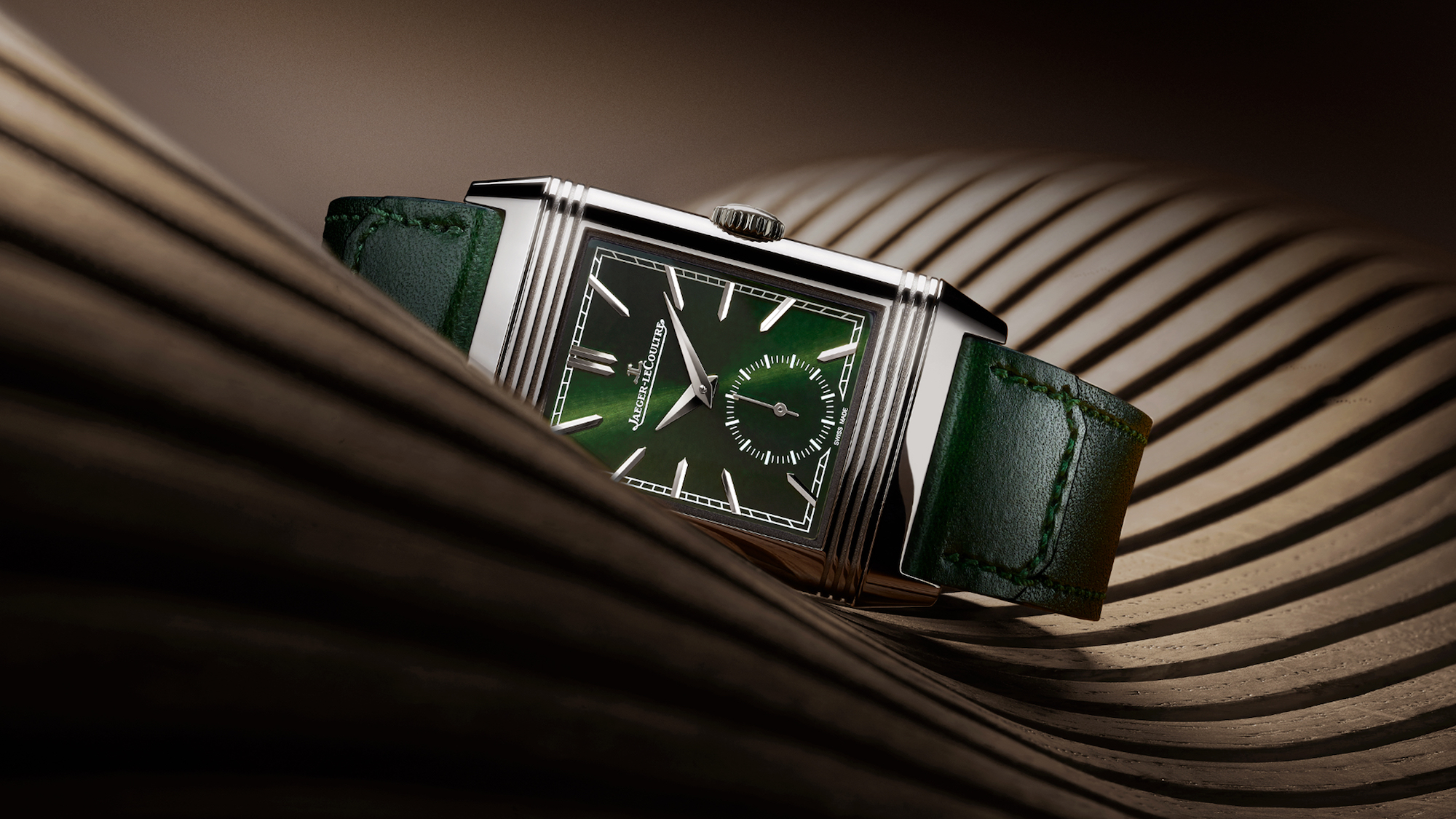 Jaeger-LeCoultre Reverso Tribute Small Seconds verde Lifestyle