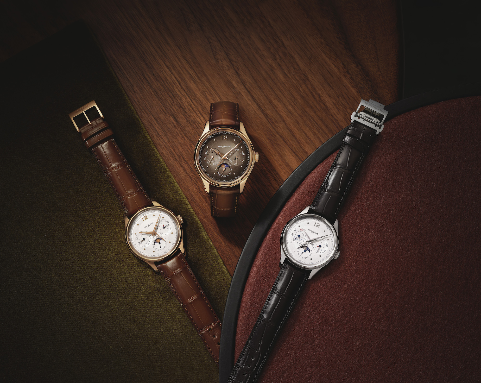 Montblanc Heritage Perpetual Calendar Limited edition 100 Combo