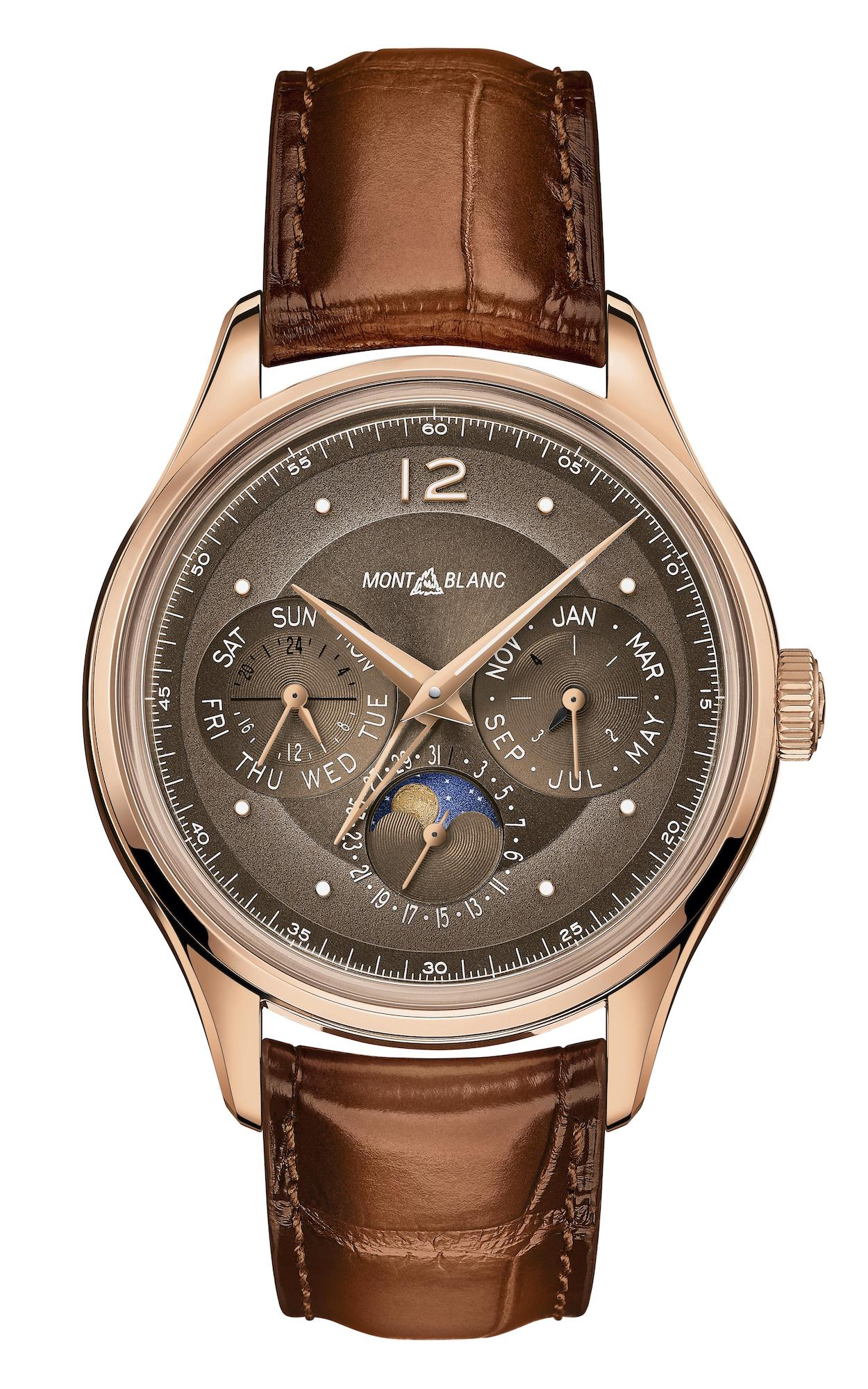 Montblanc Heritage Perpetual Calendar Limited edition 100 Frontal