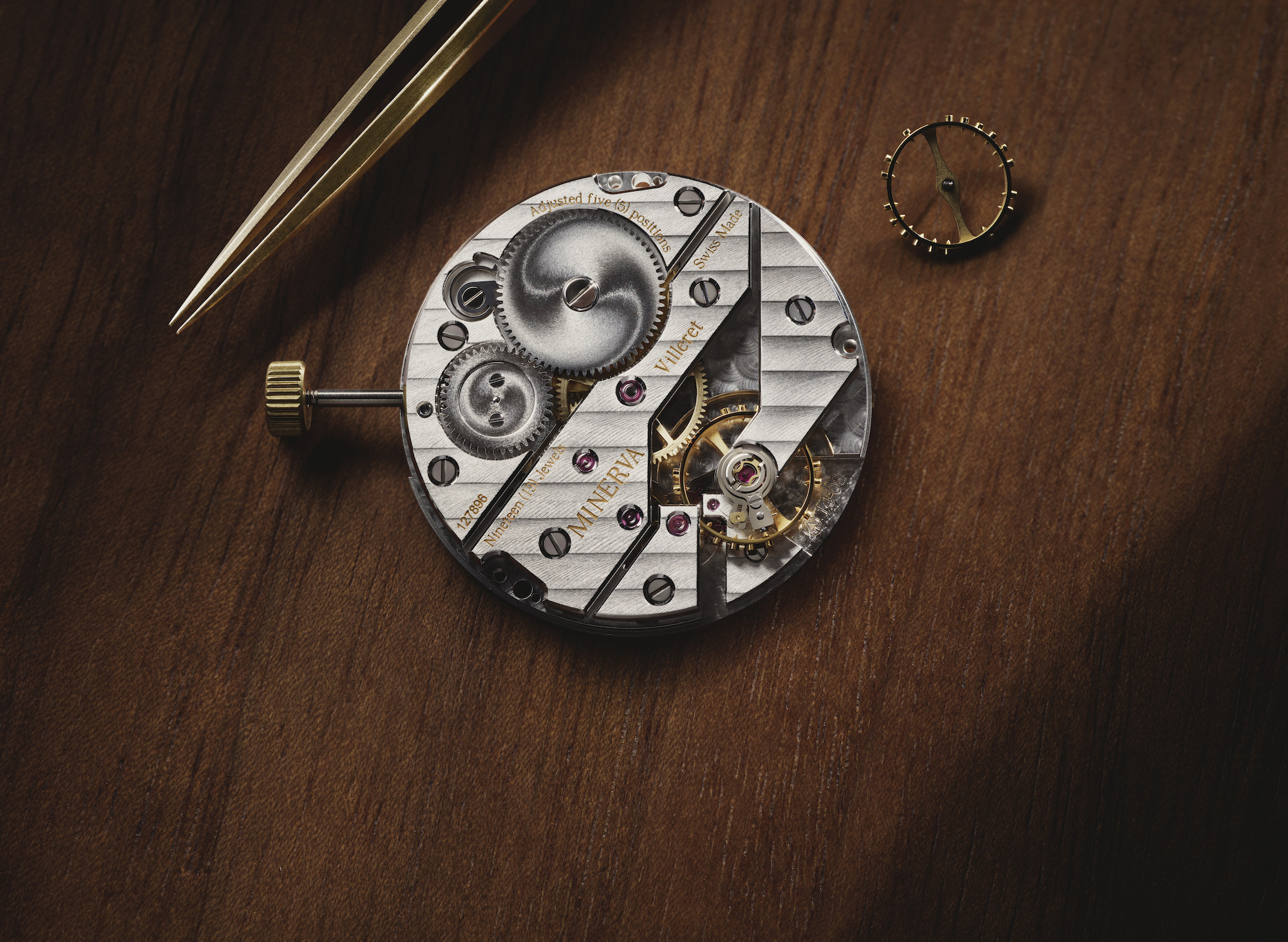 Montblanc Heritage Pythagore Small Second Limited Edition 148 Detalle calibre