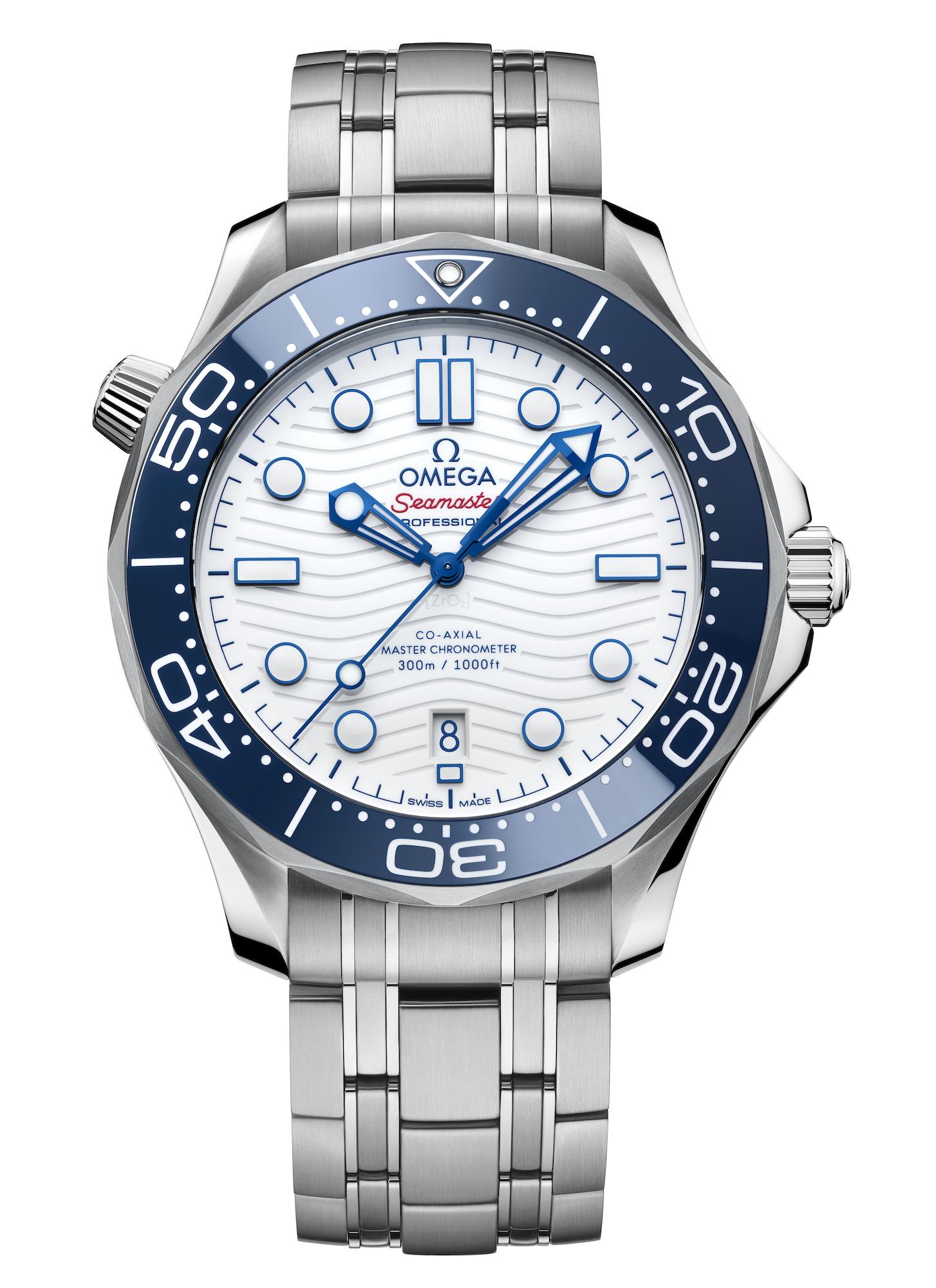 Omega Seamaster Diver 300M Tokyo 2020 522.30.42.20.04.001 Frontal