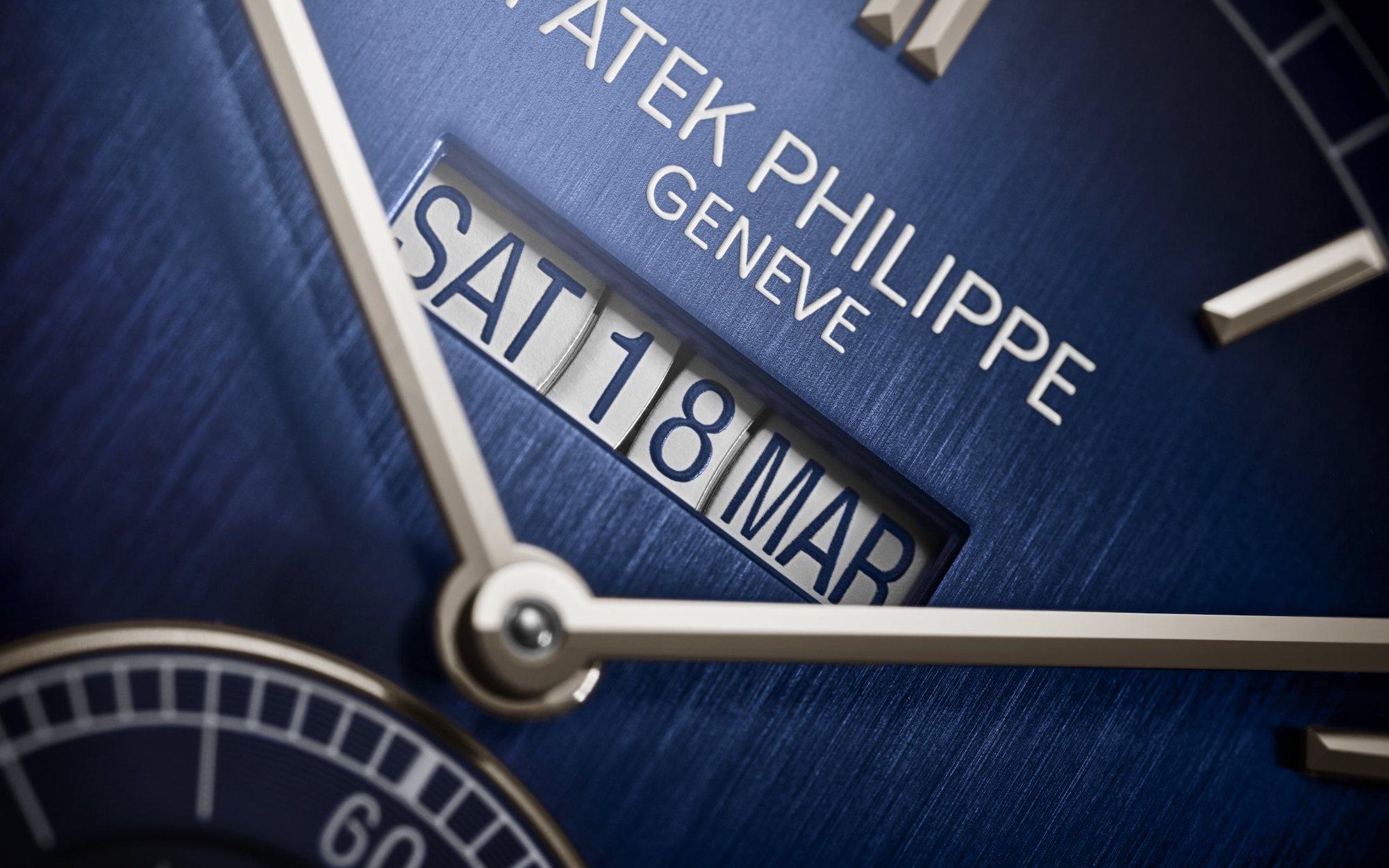 Patek Philippe Grandes Complicaciones 5236P Detalle fechador