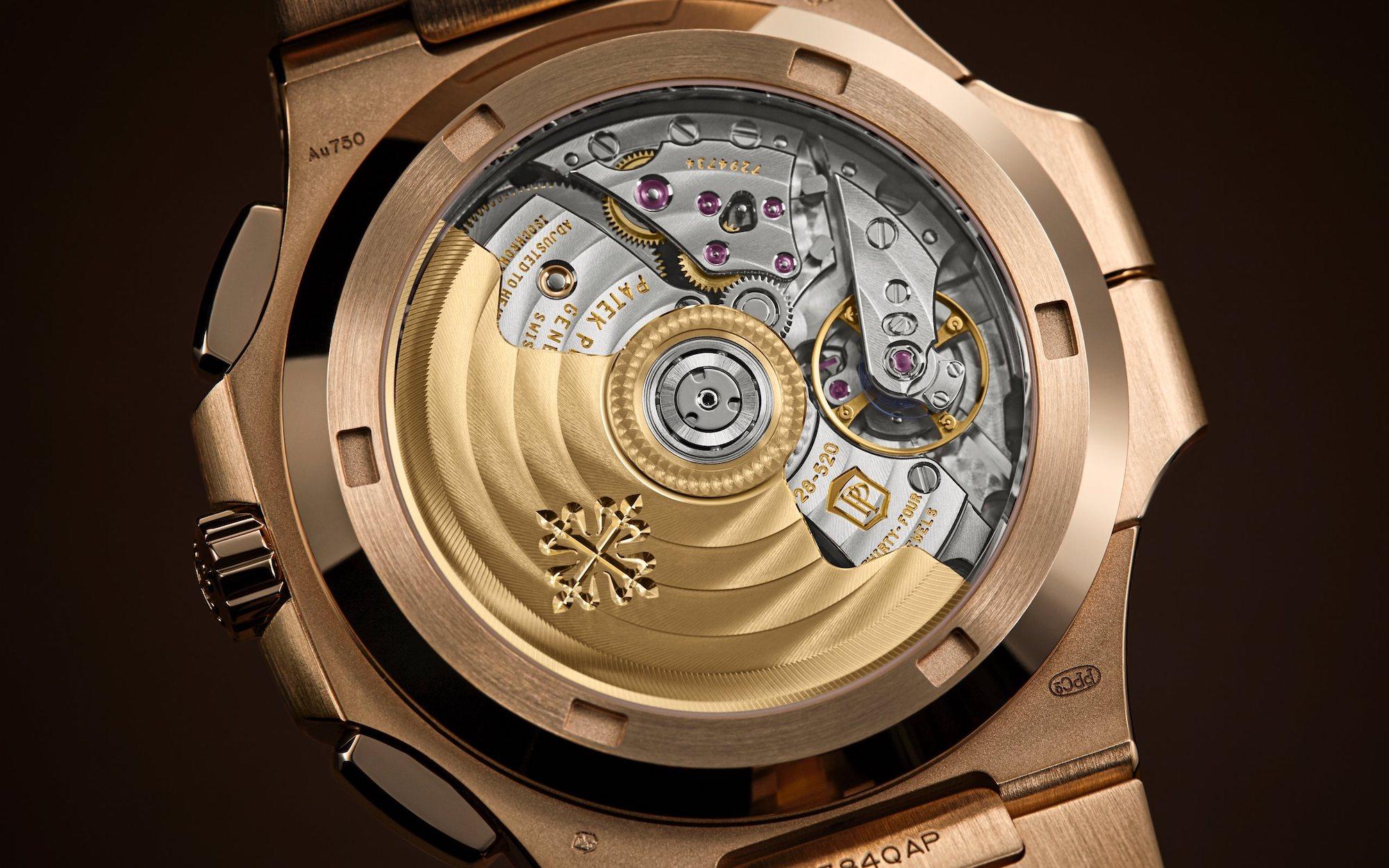 Patek Philippe Nautilus 5990/1R Detalle trasera