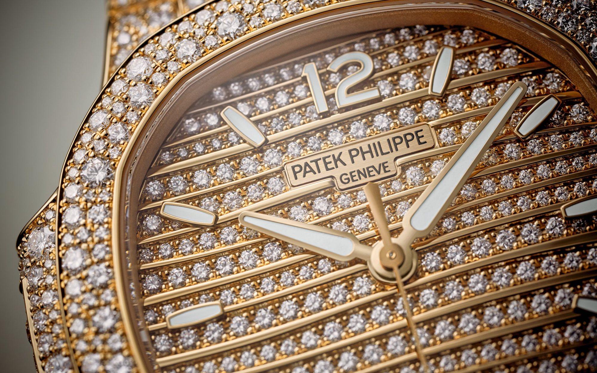 Patek Philippe Nautilus 7118/1450R Detalle esfera