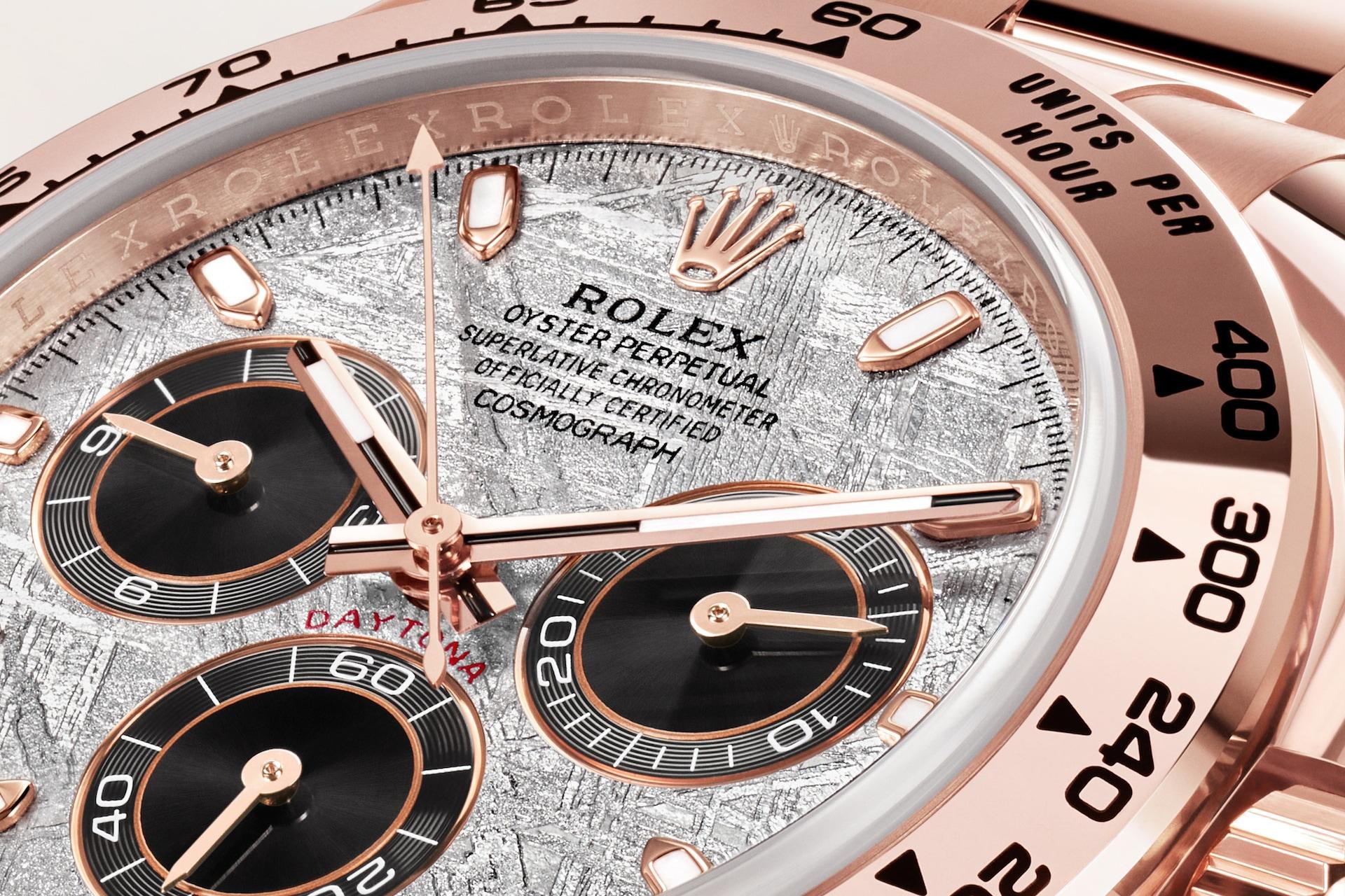 Rolex Cosmograph Daytona 116505 Detalle esfera