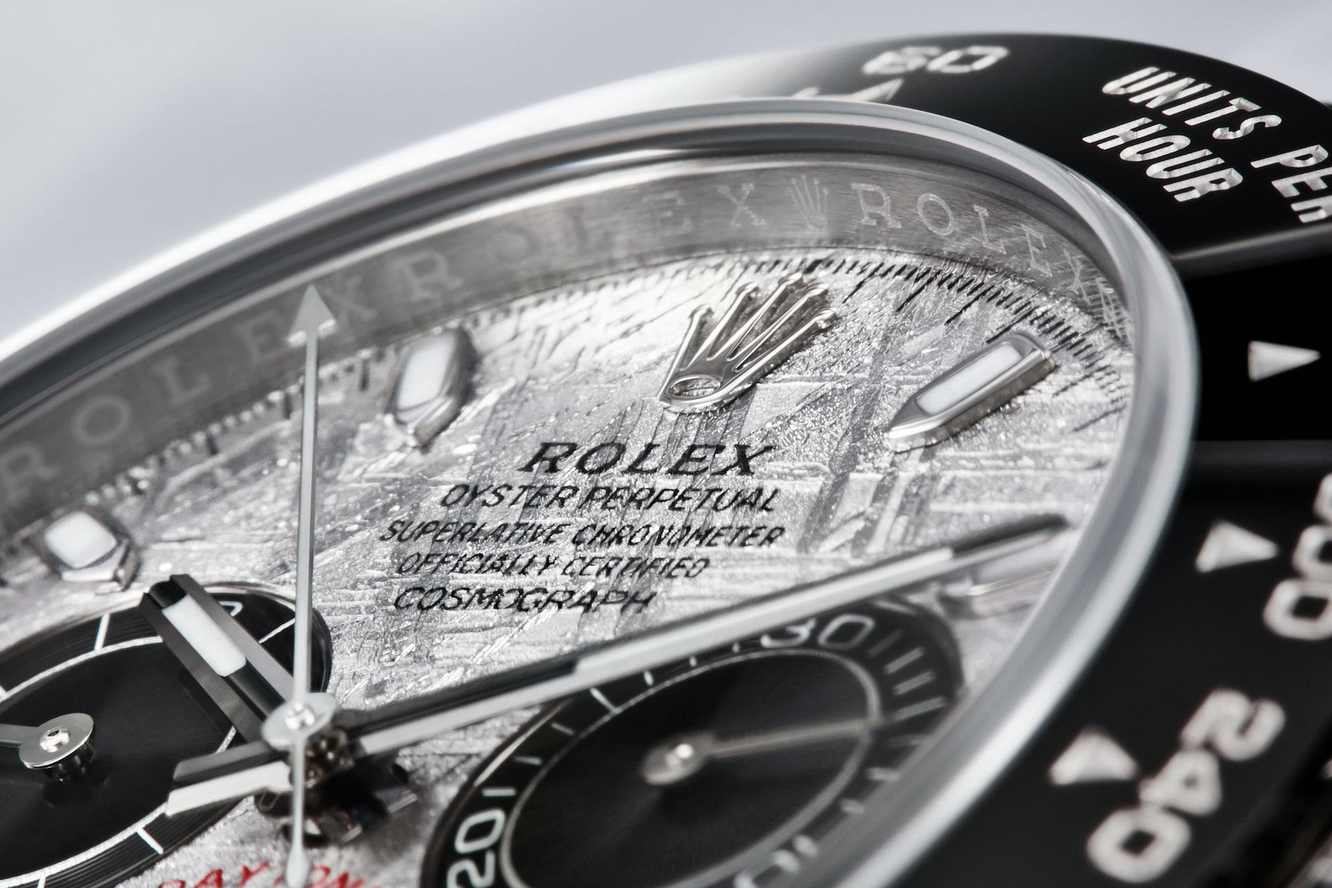 Rolex Cosmograph Daytona 116519 Detalle esfera y bisel