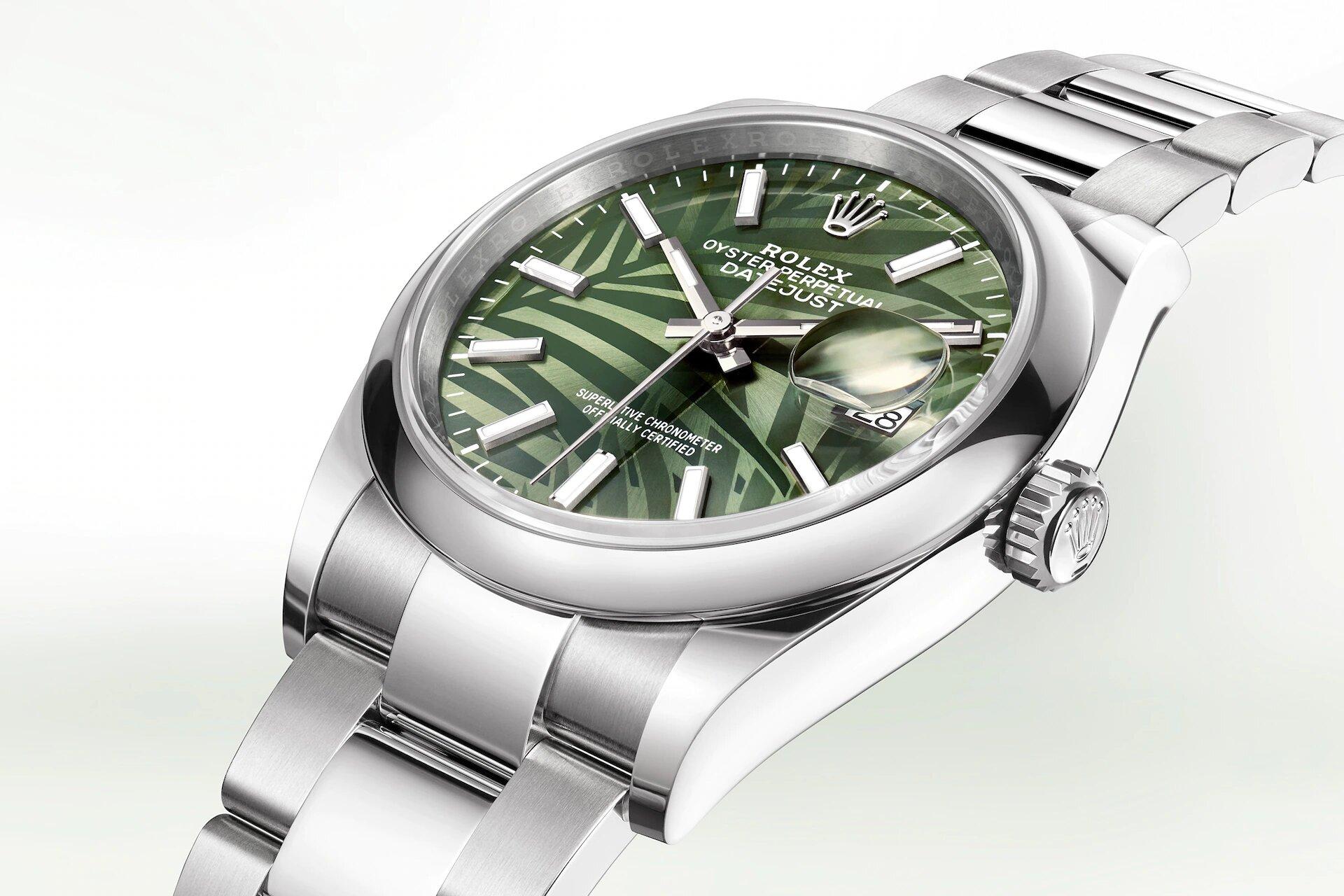 Rolex Datejust 36 126200 Detalle carrura