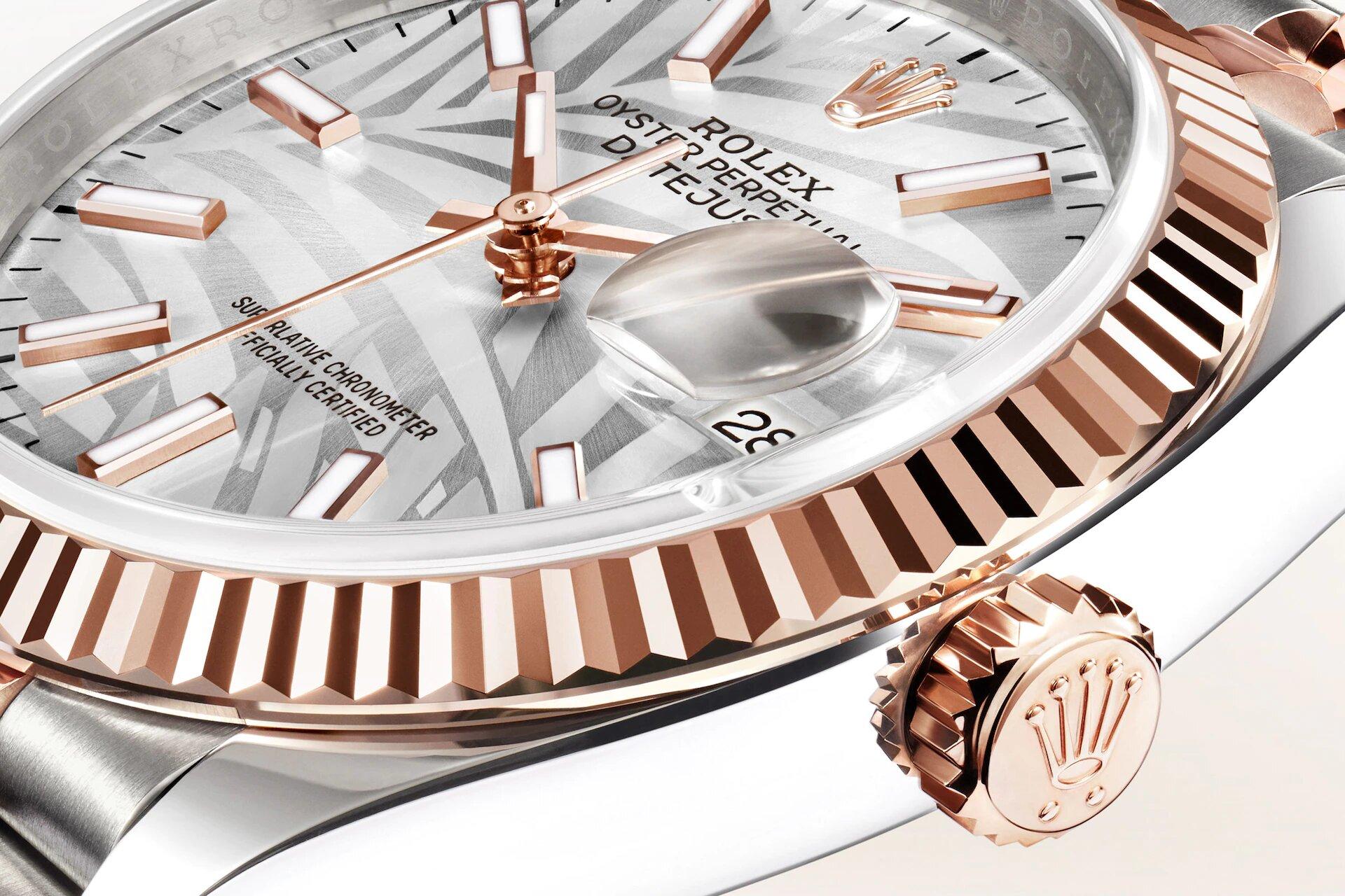 Rolex Datejust 36 126231 Detalle Esfera