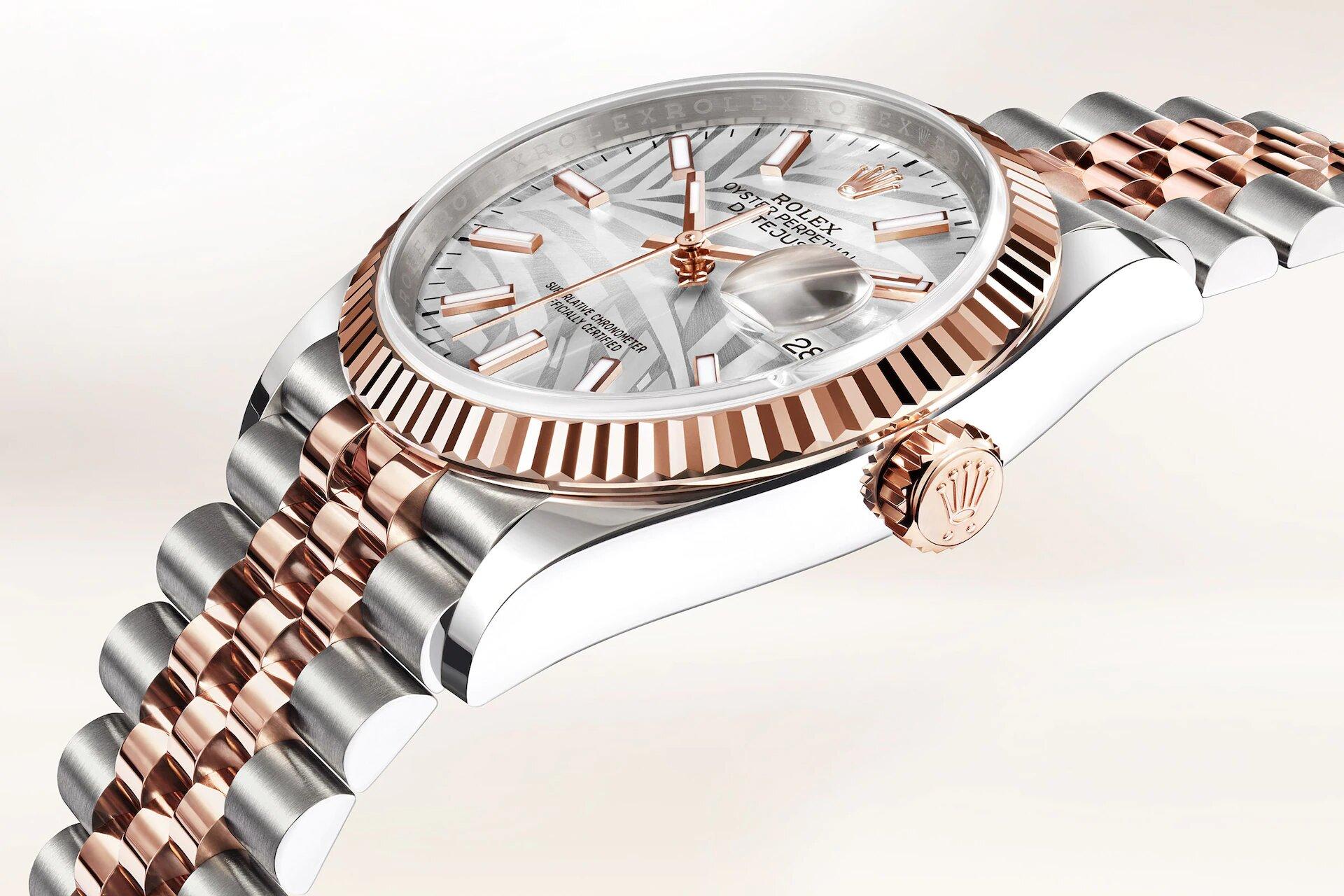 Rolex Datejust 36 126231 Detalle carrura