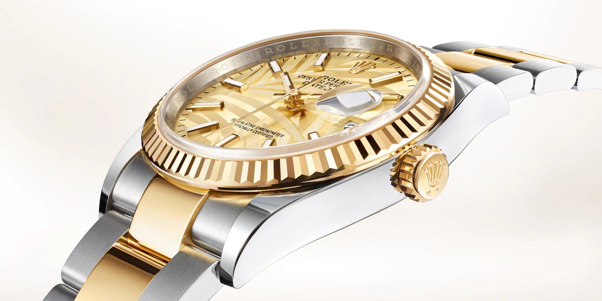 Rolex Datejust 36 126233 Detalle carrura