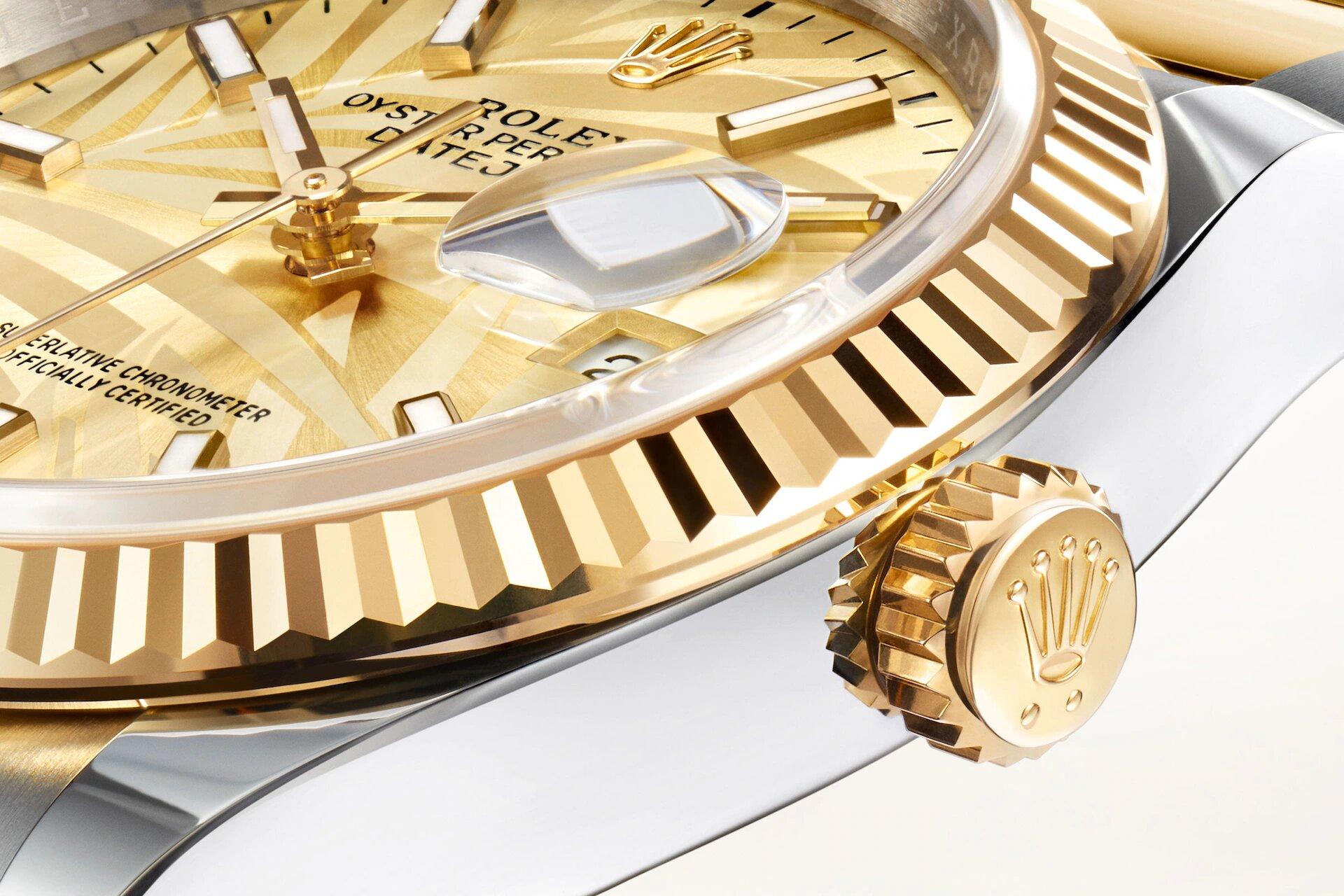 Rolex Datejust 36 126233 Detalle esfera