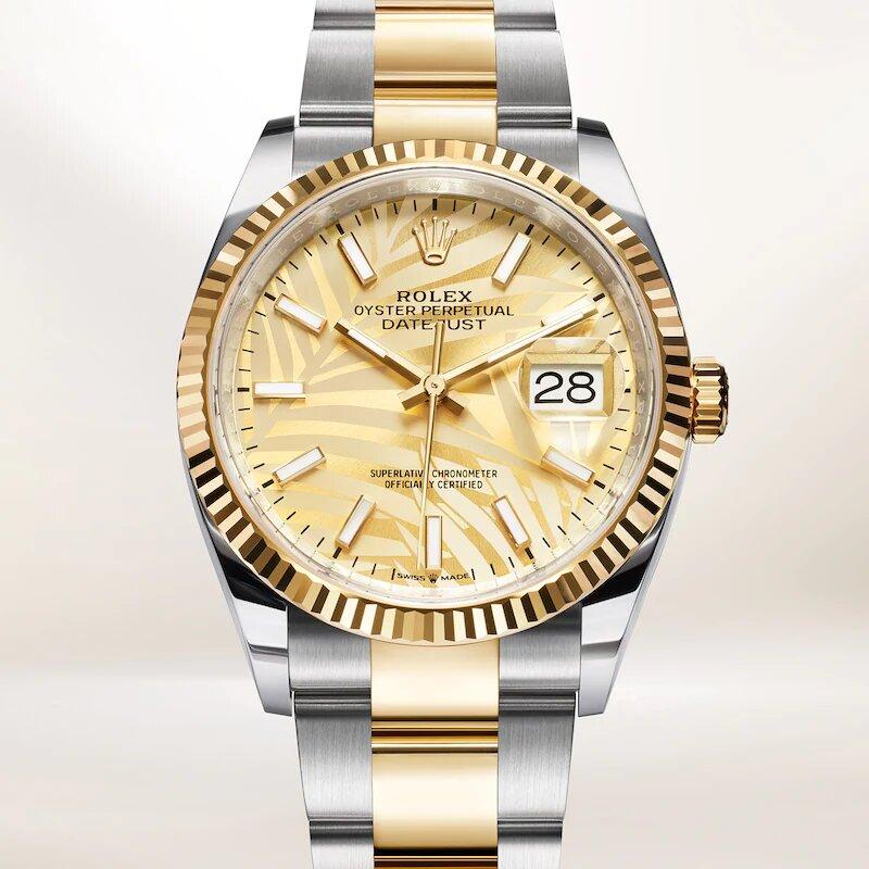 Rolex Datejust 36 126233 Frontal