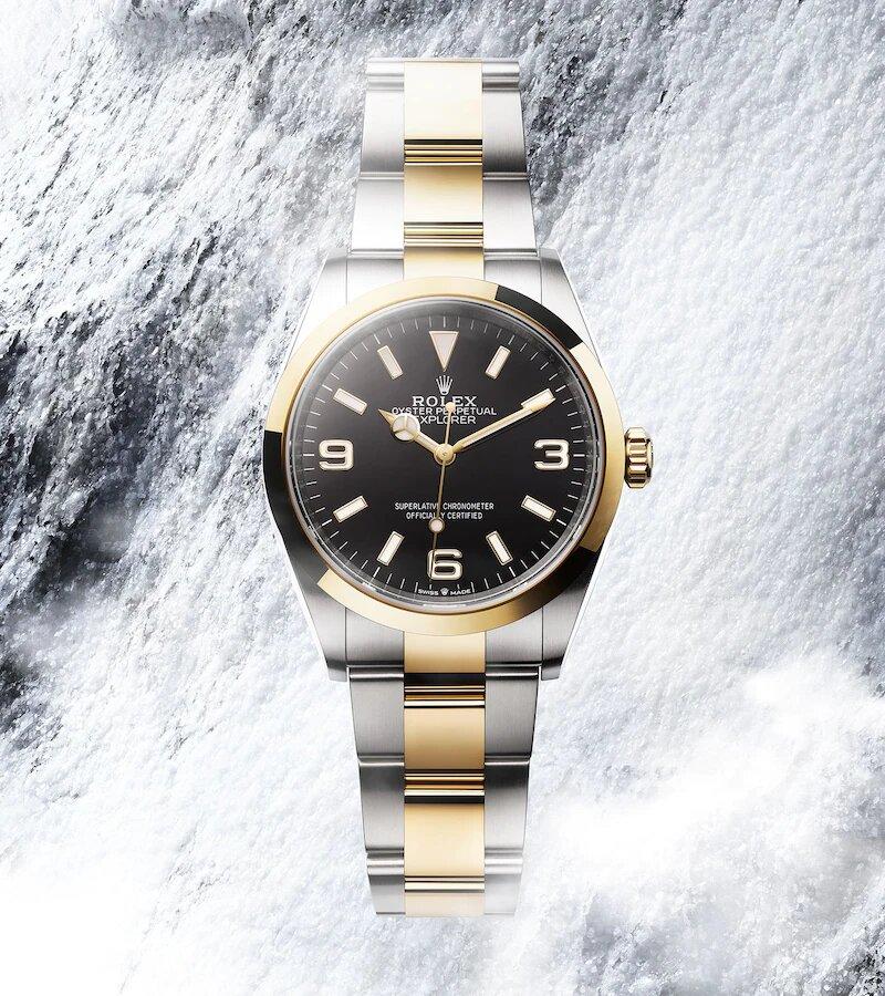 Rolex Explorer 124273 Frontal