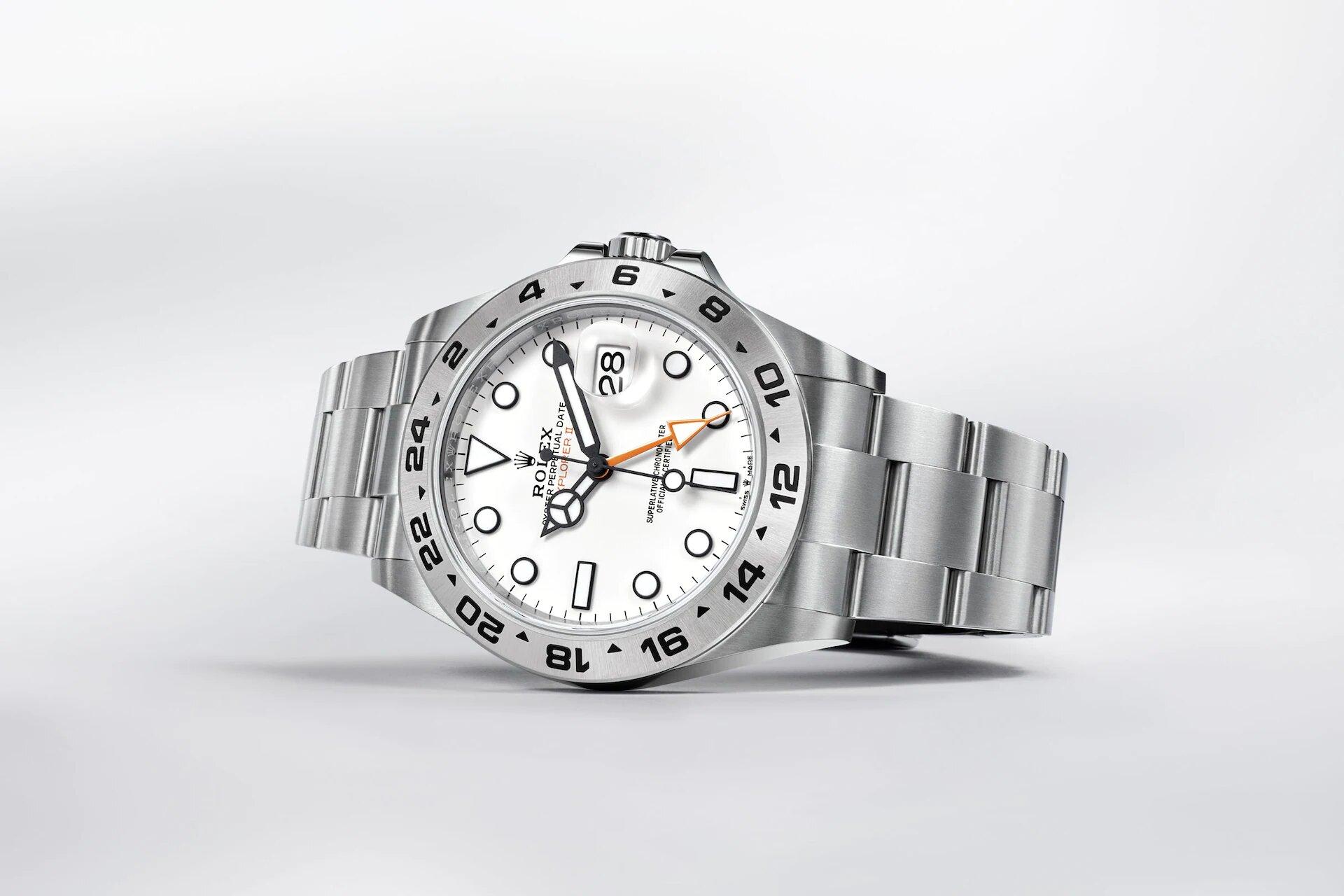 Rolex Explorer II 226570 Blanco