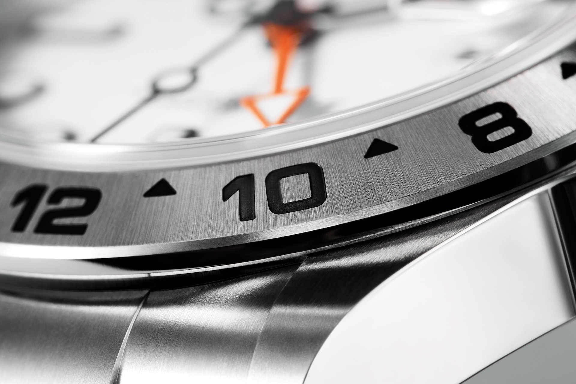 Rolex Explorer II 226570 Detalle bisel