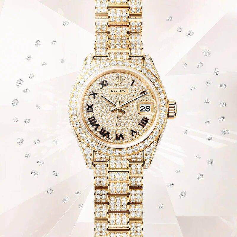 Rolex Lady-Datejust 279458 Frontal