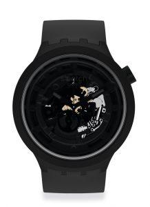 Swatch Big Bold Bioceramic black Detalle esfera