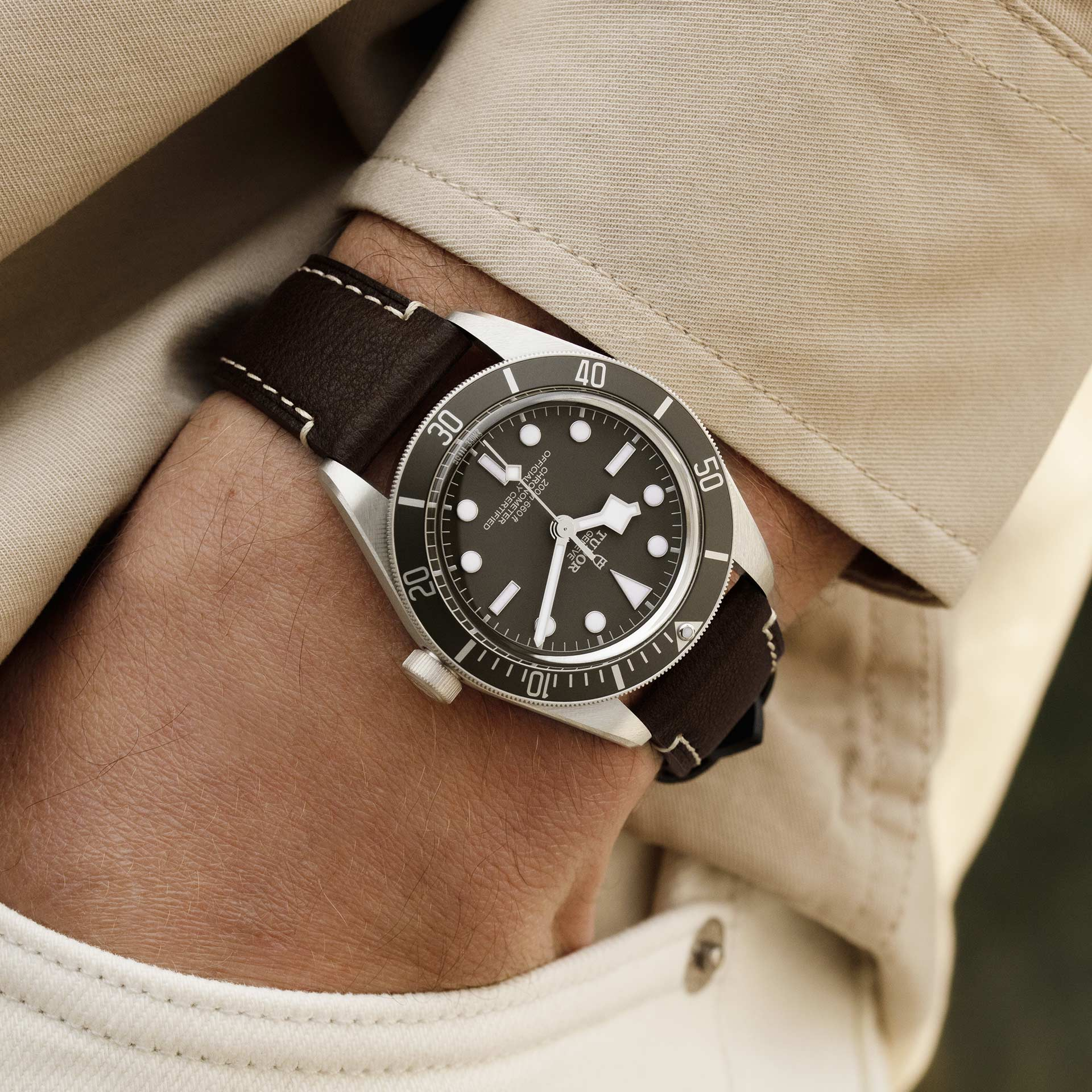 Tudor Black Bay Fifty-Eight 925 M79010SG-0001 Lifestyle wristshot