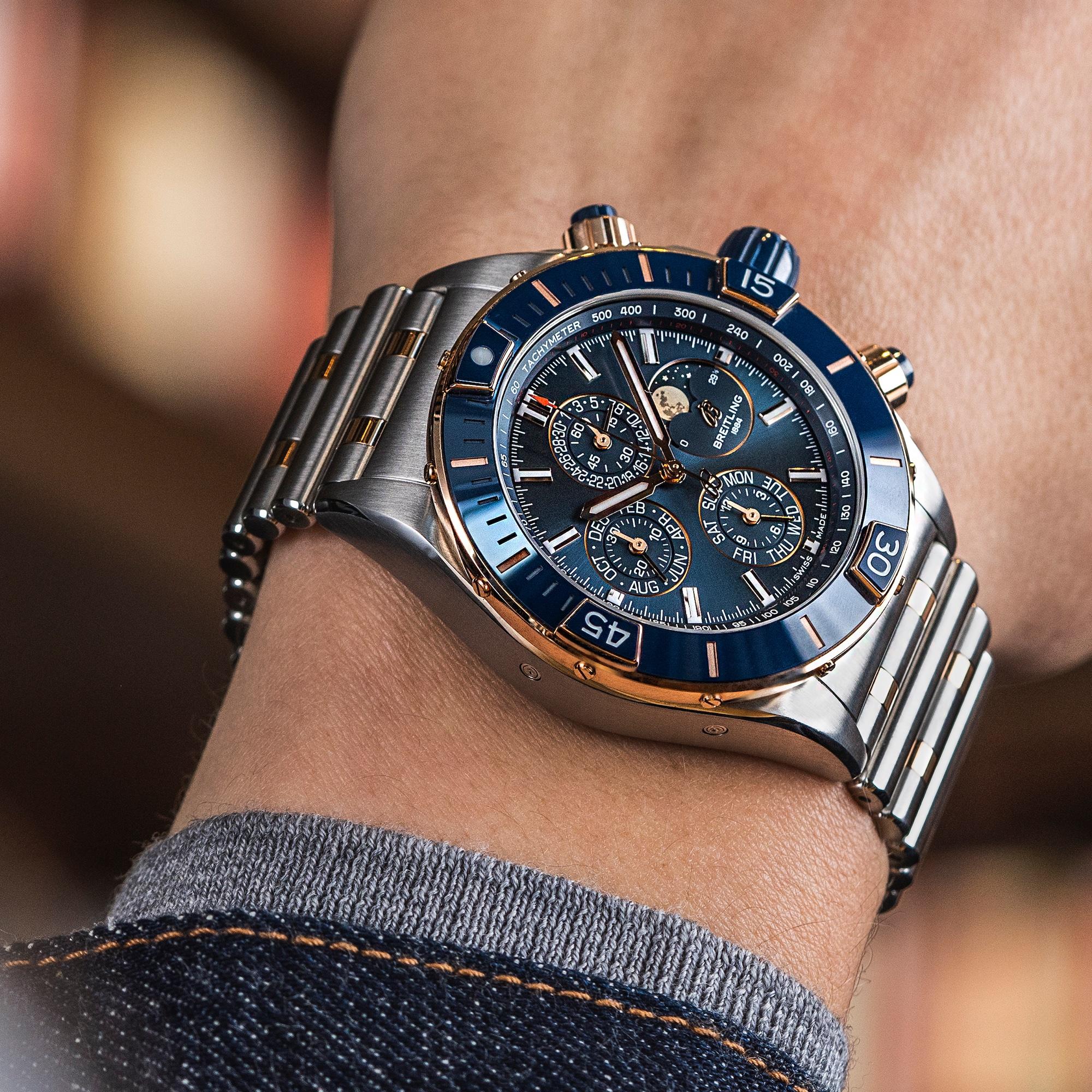 Breitling Super Chronomat 44 Four-Year Calendar U19320161C1U1 Lifestyle wristshot