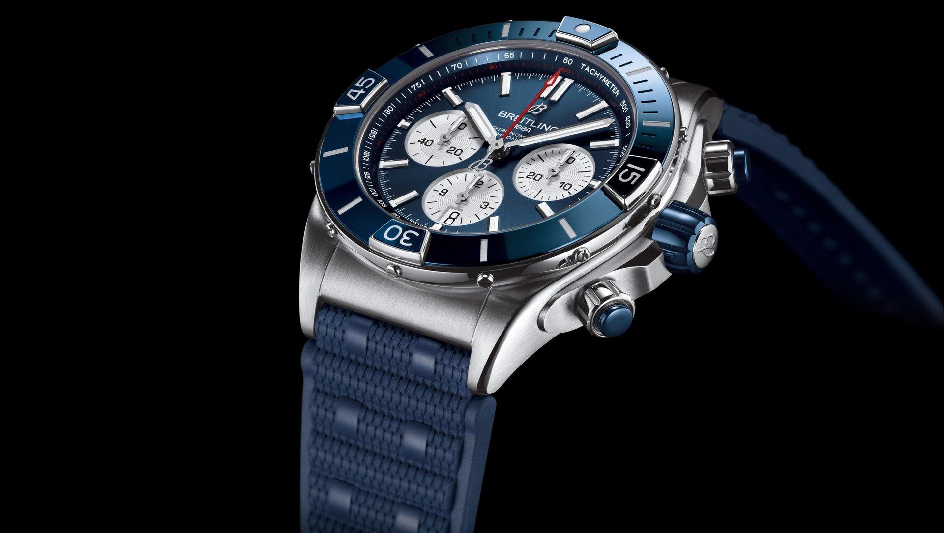 Breitling Super Chronomat B01 44 AB0136161C1S1 Detalle