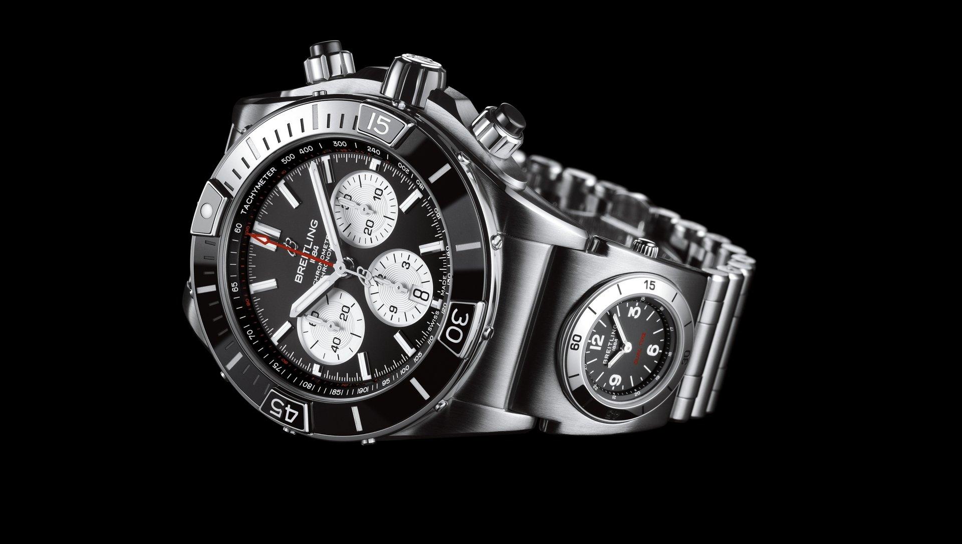 Breitling Super Chronomat B01 44 AB0136251B1A2 Detalle