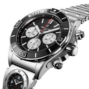 Breitling Super Chronomat B01 44 AB0136251B1A2 Esfera